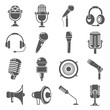 microphone icons - 66154544