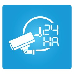 cctv on operation 24 hours