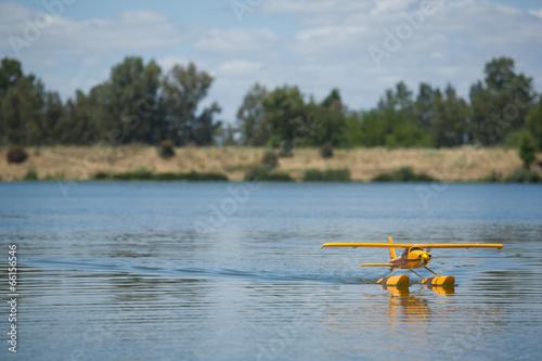 Leinwandbild Motiv Radio controlled Hydroplane