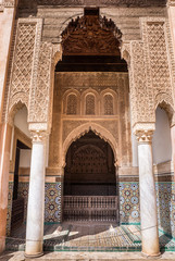 Morocco, Marrakech, Saadian Tombs