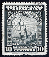 Postage stamp Paraguay 1948 Projected Monument