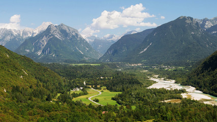 Soca Valley, Julian Alps, Slovenia