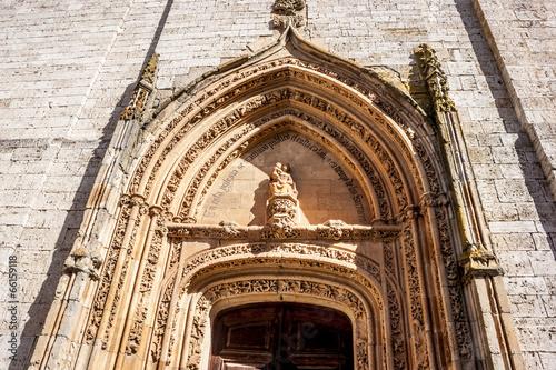 Puerta Colegiata Toro
