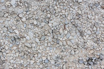 texture of gravel background