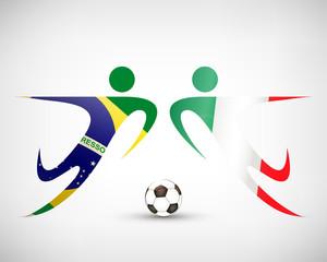 Fußball - Brasilien gegen Mexiko