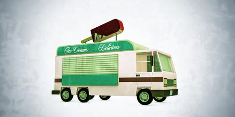 ice creams van
