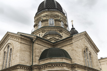 Cathedral of the Archangel Michael in Pyatigorsk (Russia), close