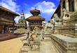 Nepal temples- Bhaktapur, Durbar square