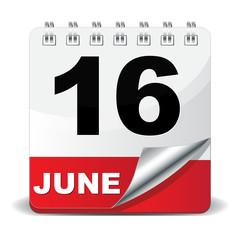 16 JUNE ICON