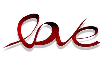kırmızı seviyorum tasarımı