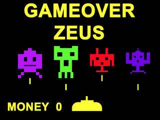 Gameover Zeus virus concept