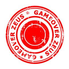 Gameover Zeus virus stamp