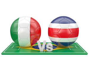 Match du groupe D, coupe du monde 2014