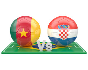 Match du groupe A, coupe du monde 2014