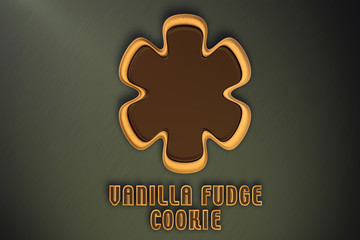 Vanilla Fudge Cookie