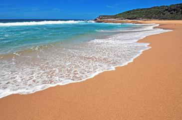 Remote Pristine Beach near Sydney Australia