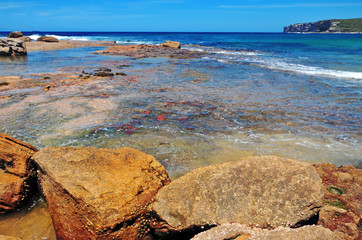 Remote Beach near Sydney Australia
