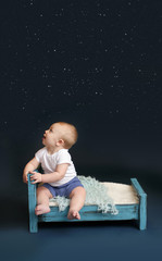 Baby Bed Time, Starry Sky