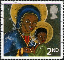 Black Madonna and Child from Haiti