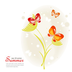 Summer light background