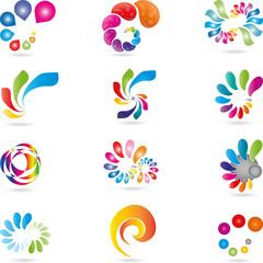 Logo, Spirale, Welle, Schnörkel