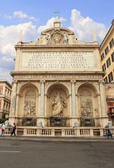 Acqua Felice Fountain in Rome