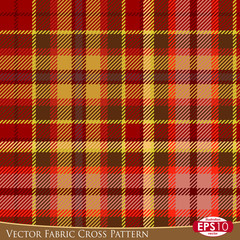 Vector Fabric Cross Pattern D