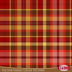 Vector Fabric Cross Pattern D