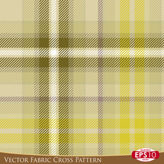 Vector Fabric Cross Pattern E
