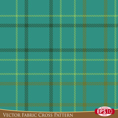 Vector Fabric Cross Pattern F
