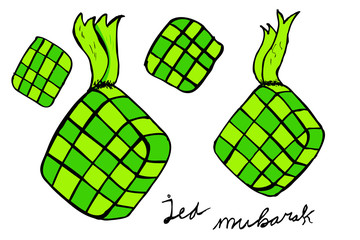 Ketupat, indonesia traditional food