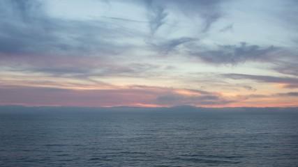 Dramatic Beach Sunset Time Lapse Video