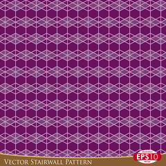 Vector Stairwall Pattern G