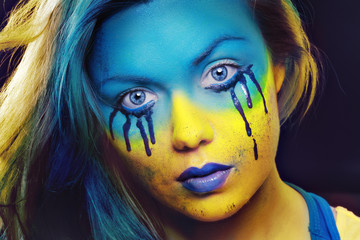 color face art