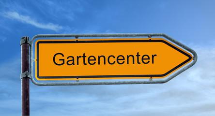 Strassenschild 8 - Gartencenter
