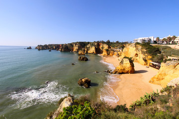 Rocky beach, Lagos, Portugal