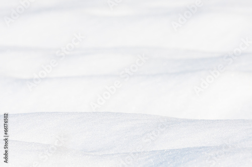 White snow background - 66176502