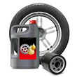 Vector Engine Oil with Oil Filter and Tire