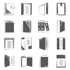 book and report document icons