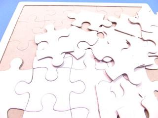 パズルの土台とピース
