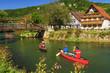 Bootsfahrt im Fränkischen