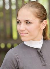 Female jockey