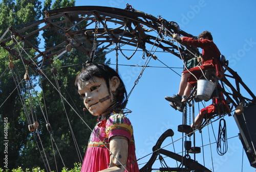 Papiers peints Fete, Spectacle Royal de Luxe