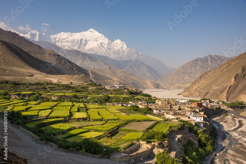 Foto op Plexiglas Nepal The village of Kagbeni, Upper Mustang, Nepal