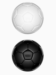 Isolate soccer ball