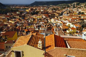 Bosa City, Sardinia, Italy