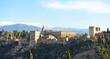 Alhambra de Granada, Sierra Nevada, Andalucía, España