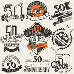 Vintage style 50 anniversary collection.