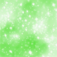 Glittery green Christmas background. EPS 8