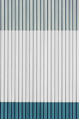 corrugated wall on industrial building